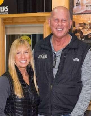 Brian And Shaunta At Teeters